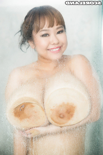 Japanese babe pchan in the Japanese colossal tit scene