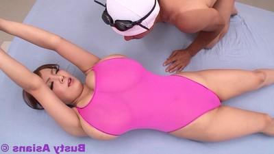Astonishingly major breasted eastern hitomi tanaka fixed pink body