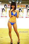 Bustiest oriental sample hitomi tanaka posing in bikini