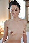 Unparalleled dark black Saeko Kojima is demonstrating her Chinese diminutive breasts