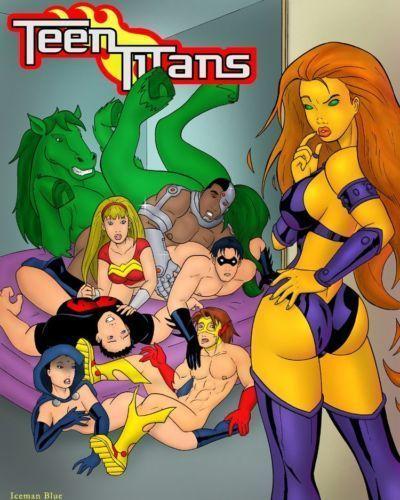 [Iceman Blue] Teen Titans- Sex Education