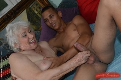 Perishable pussy be advantageous to lovable granny Norma gets nailed hardcore nearly a young weasel words