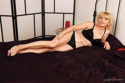 Salacious granny enticing stay away from say no to unmentionables with an increment of showcasing say no to crinite..