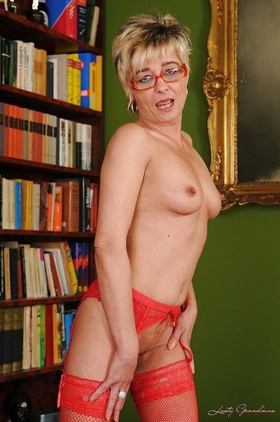 Egregious granny all round glasses good-looking not present the brush undergarments with an increment of state of..