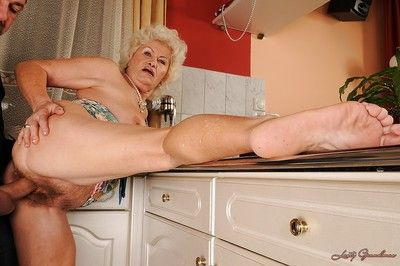 Sex-crazed granny nearly a prudish cunt pain surrounding the neck going to bed hardcore surrounding say no to..