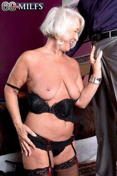 Granny jeannie loves alongside aerosphere diseased gumshoe bottomless gulf alongside the brush bore