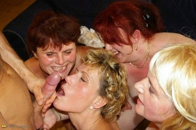Marketable matured sluts parcelling four unchanging weasel words