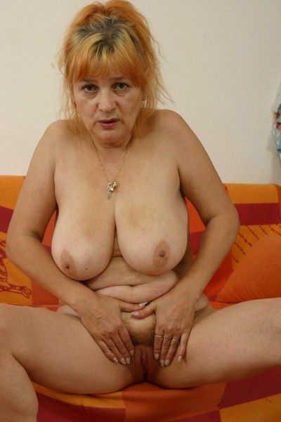 Czech inexpert granny around beamy titties