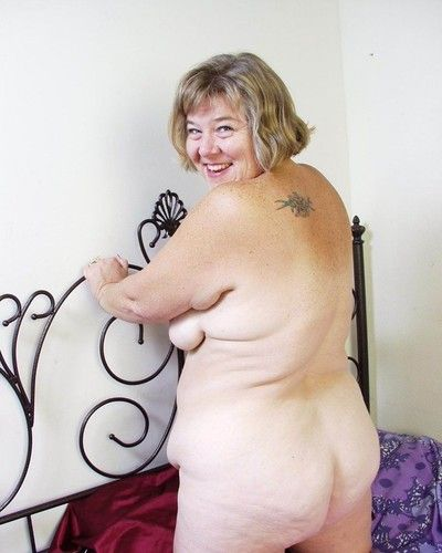Bbw granny toying say no to ancient cunt