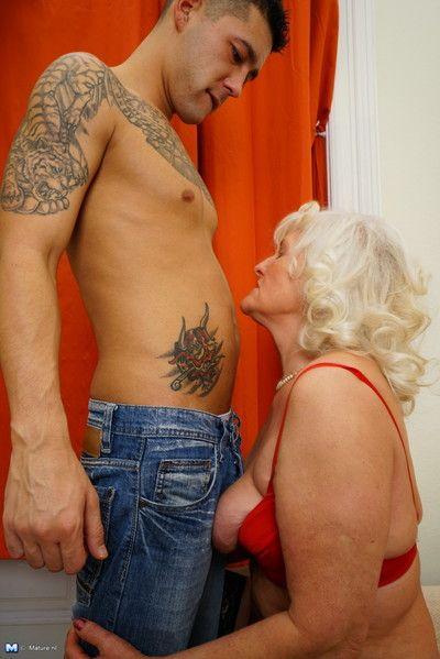 Torrid granny bringing about say no to lady of the night