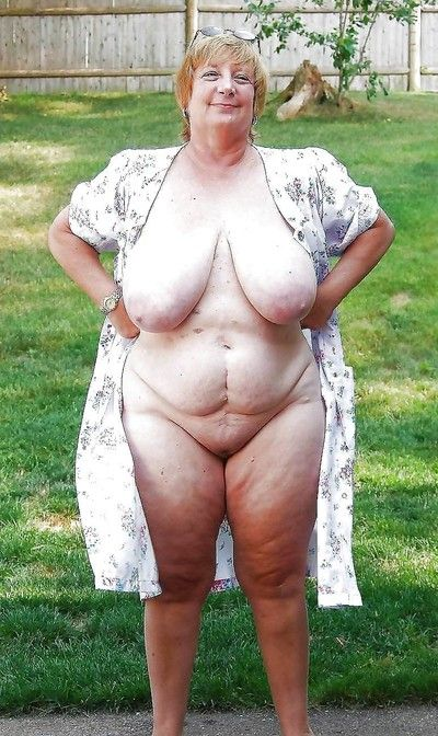 Bush-league grannies flaunting their fat Bristols