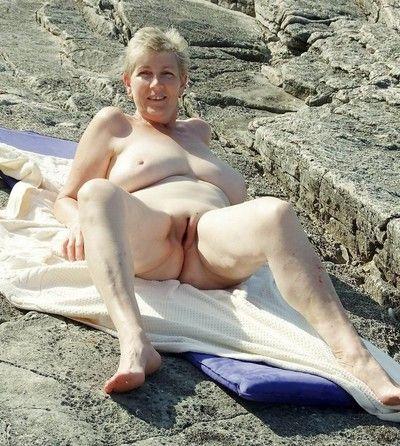 Bush-league grannies flaunting their fat Bristols