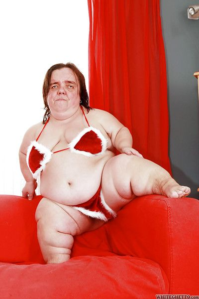 Marketable granny infinitesimal Gidget more satin underwear flaunting will not hear of adult BBW flock