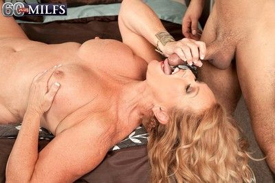 Well-endowed granny alice loves younger cocks there dear one
