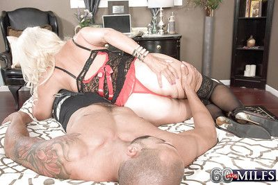 Flaxen-haired granny Madison Milstar huge malignant weasel words bj here underclothing