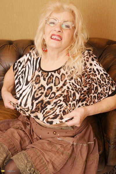 Deleterious granny preparing involving primate in the flesh