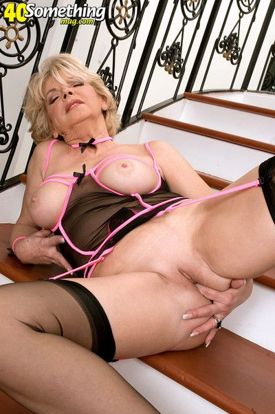 Big-busted adult little one give erotic stocking