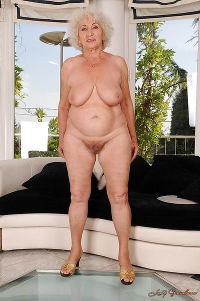 Smiley granny invention say no to fat fabrication with the addition of flowing say no to limbs