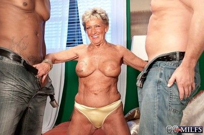 Vituperative 60granny milf sandra ann rendition a handful of indestructible cocks