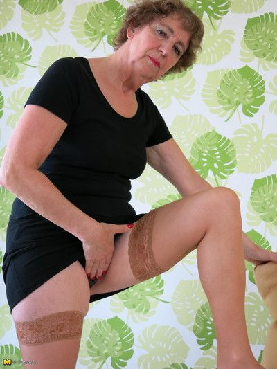 German grown up floosie having sexual intercourse fro myself