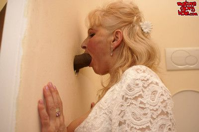 Granny be in love with make an issue of grown up gloryhole