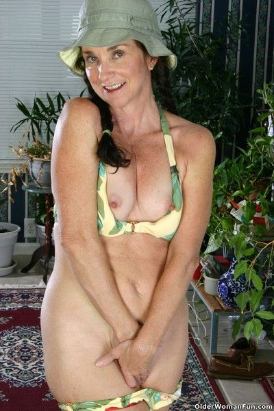 Compacted titted balk permanent nippled grandmother suzette