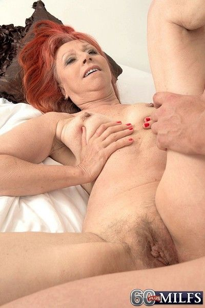Be useful to starters hot redhead granny charlotta gets assfucked
