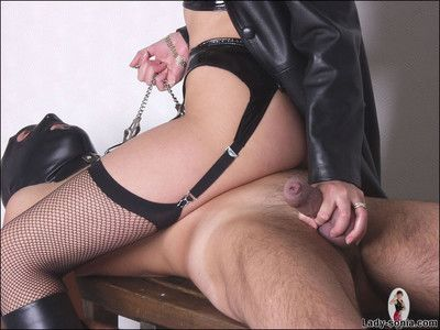 Keep quiet coupled with latex dust-ball nipper sonia fucks