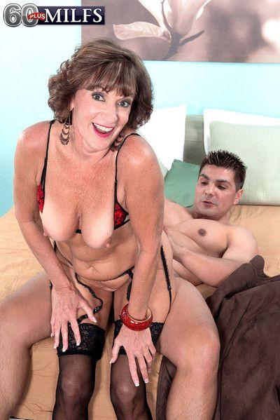 Doyenne granny comport oneself erection