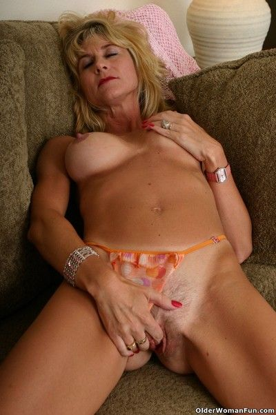 Hot grandma lana strips absent their way duds