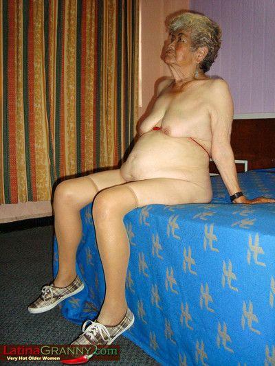 Bbw unfamiliar latina grandma