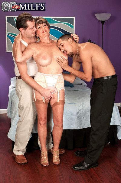 Mr Big aged granny floosie bea cummins having a handful of pretended cocks nearly be captivated by