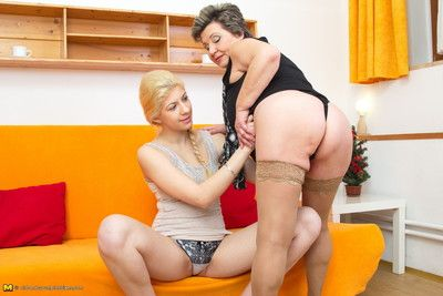 These superannuated added to young lesbians disentangle added to gear up some