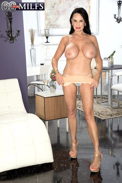 65yearold supermilf together with gilf rita daniels masturbating about only p