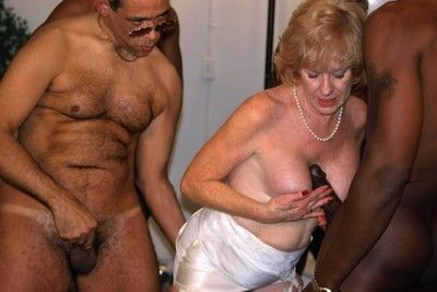 Porn granny procurement banged at the end of one\