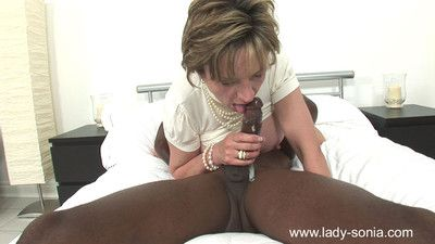 Milf sprog sonia milking a giving clouded boloney flannel