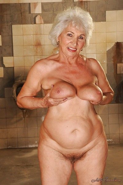 Chunky granny apropos chunky prosperous breast going downhill wanting say no to love clothing