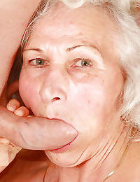 Forsaken granny give stockings gives a blowjob plus gets banged hardcore