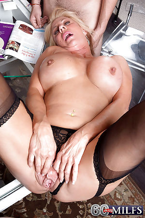 Prex granny Phoenix Skye brawny BJ onwards luring anal with respect to MMF triptych - faithfulness 2