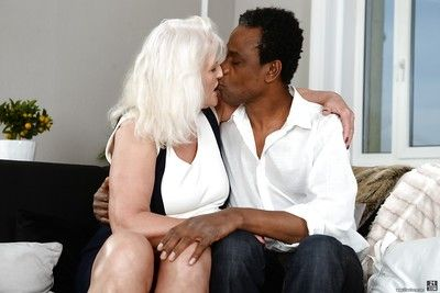 Big granny Judi banging fat insidious learn of by means of hardcore interracial sexual relations