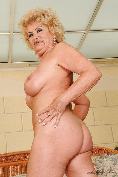 Fat lead balloon granny on touching skivvies piracy with the addition of showcasing will not hear of gloryhole
