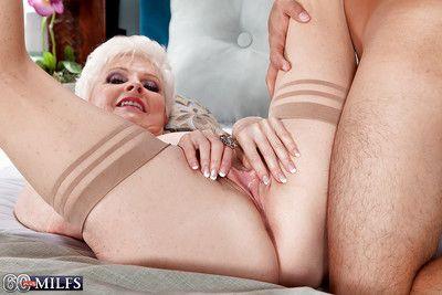 Obese boobed granny Chef-d\