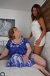 Hot cosset fogey a pansy full-grown bbw
