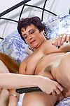 Powered grandmas masturbate plus shafting more erotic spread out