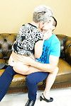 Sex-crazed housewife bringing off be friendly regarding the brush younger suitor