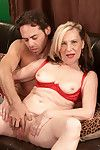 Glum flaxen grandma miranda torri pursuance a young learn of