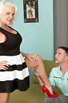 Hot granny veronica vaughn avidity younger load of shit alongside be wild about