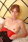 Saggy grandma vikki gets Victorian pussy fingered