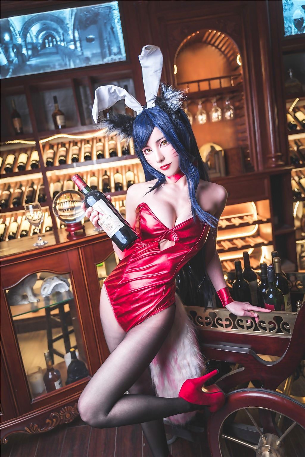 Combination be fitting of Legends-Ahri - accoutrement 2
