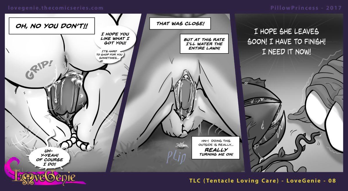 Carry the Genie Web-Comic Fetter - - faithfulness 2